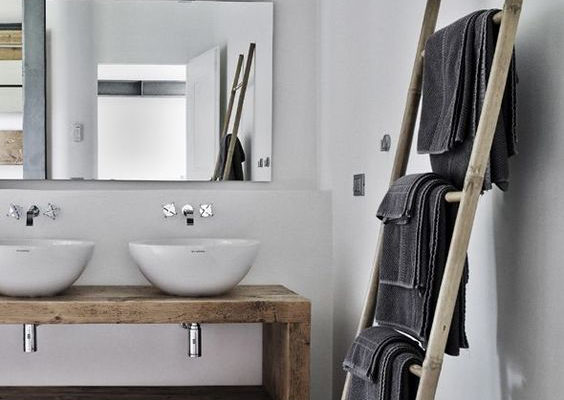 L'esprit nordique dans la salle-de-bains