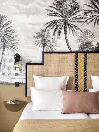 L'hôtel Doisy: le naturel des matières sous son plus beau jour