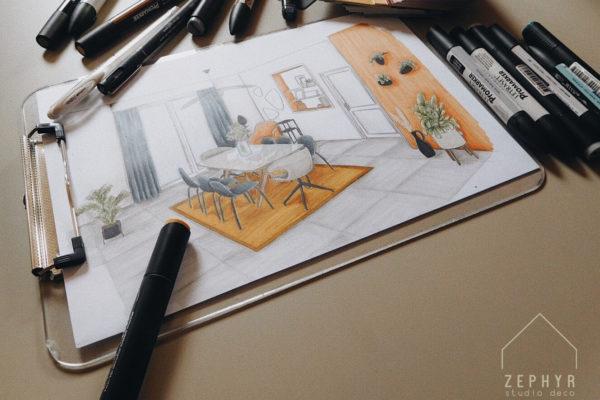 Peut-on se projeter avec un dessin?