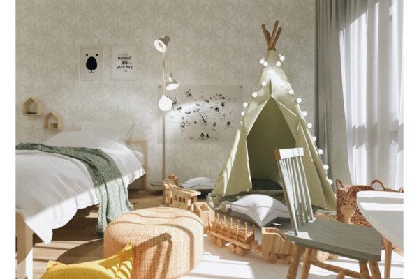 Une chambre pour 1, 2… 3 enfants!
